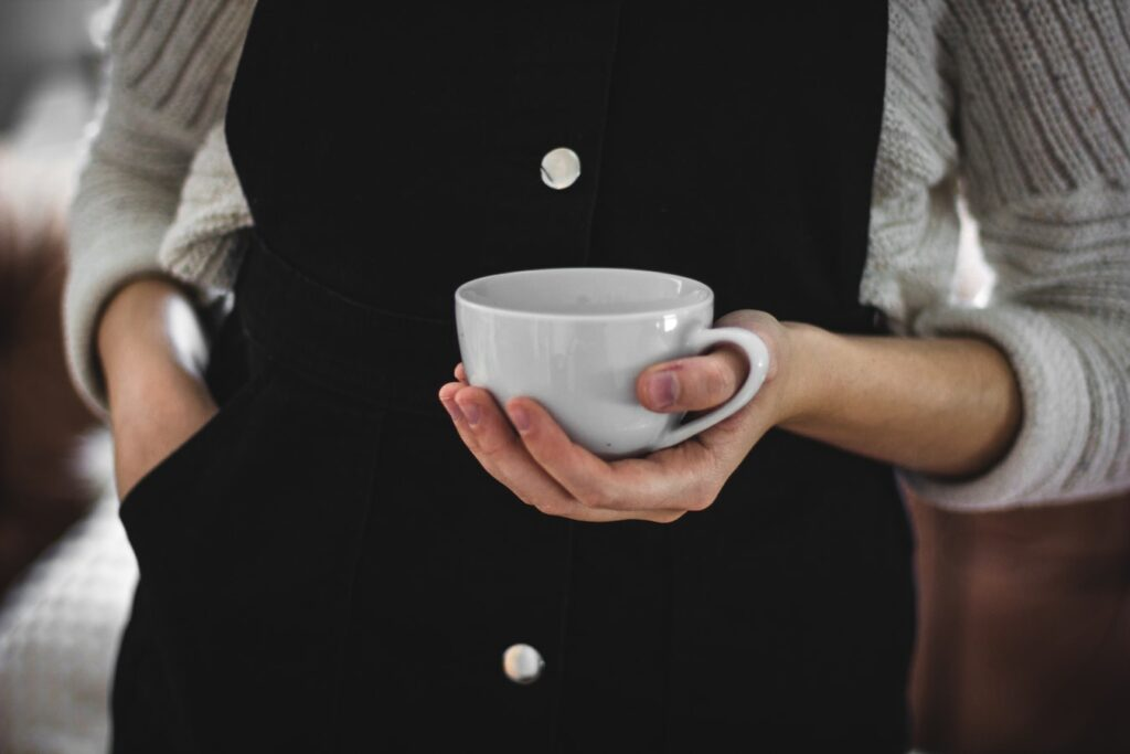 Ledelse med koppen i hånden