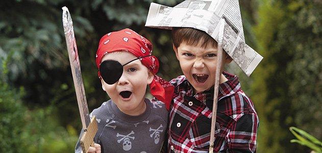 børn sørøvere